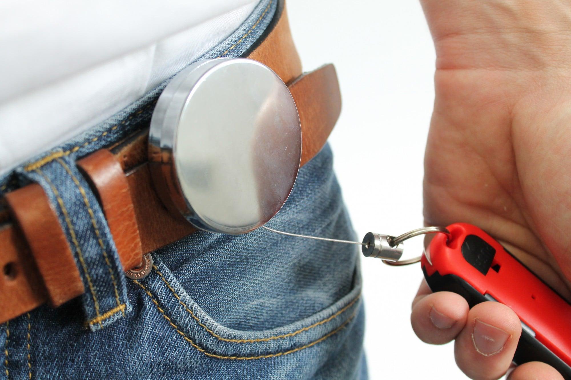 Gürtelclip für Sicherheitsmesser und Sicherheitscutter