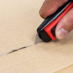 Cuttermesser Sicherheitsmesser automatischer klingeneinzug leicht langlebig robust
