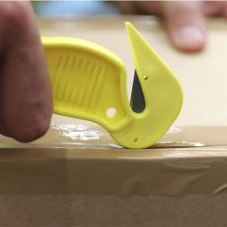 Dispo Lite Yellow Tape Cutting