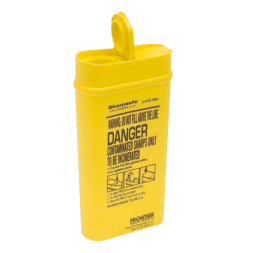 0.2L Sharps Disposal box for waste