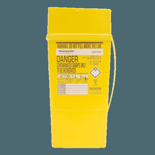 0.6L Sharps Box