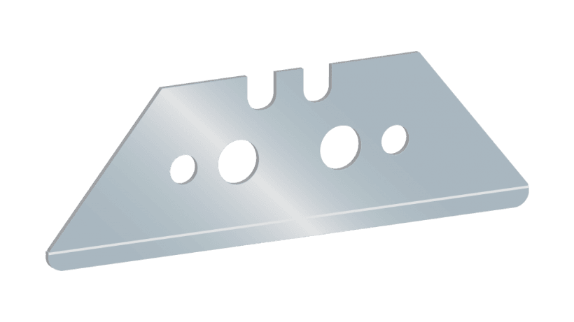 Angled AutoSafe Anti-Stab Blade