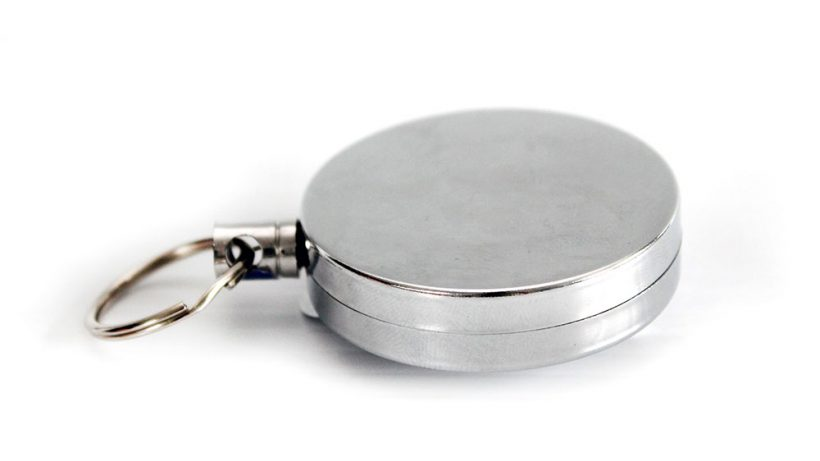 Metal Yoyo keychain for heavy duty safety knives