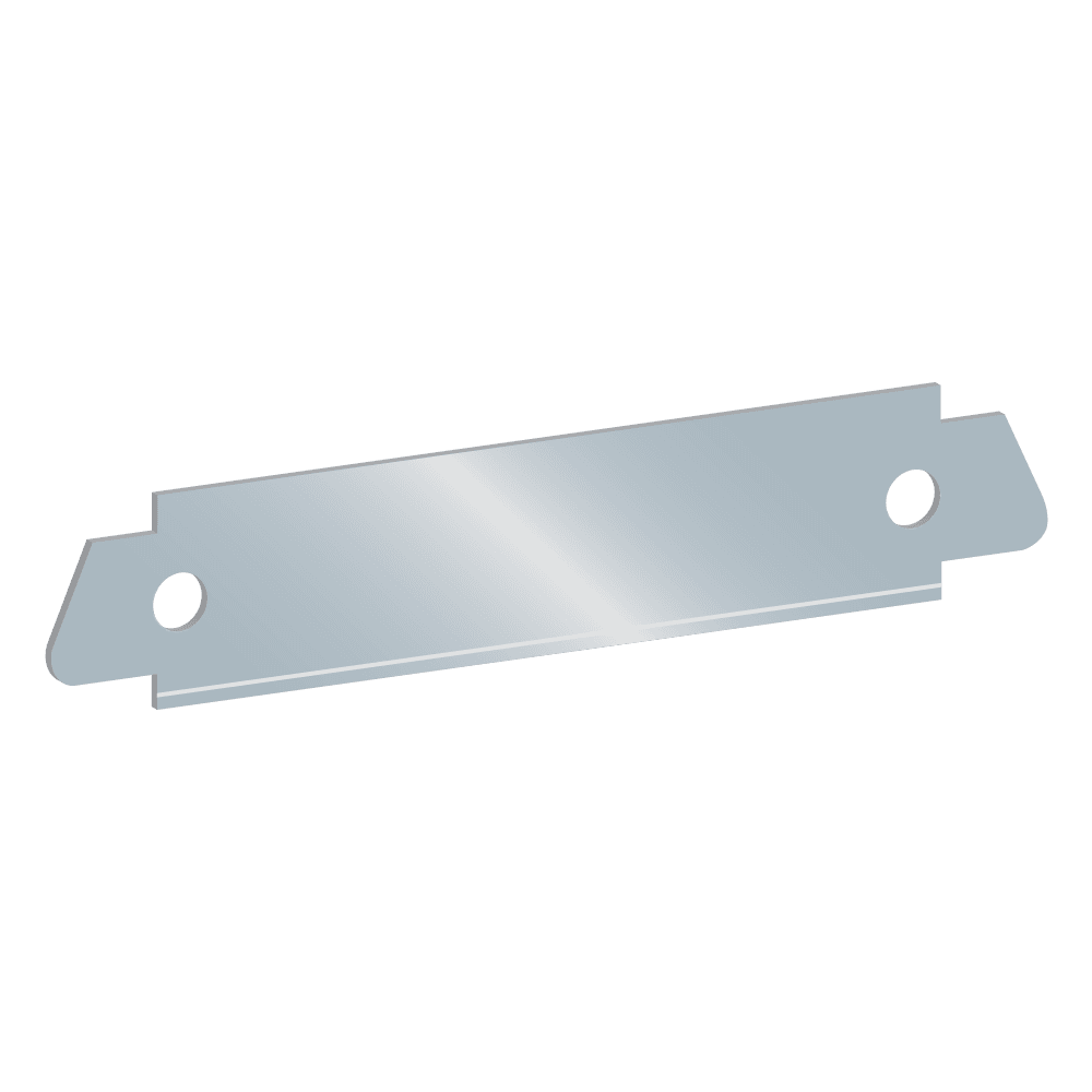 Angled GR8 Tape Cutter Replacement Blade