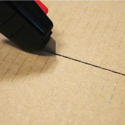 AutoSafe Cutting Cardboard