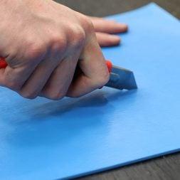 AutoSlide Cutting Material