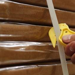 Dispo Lite Yellow Tape Cut